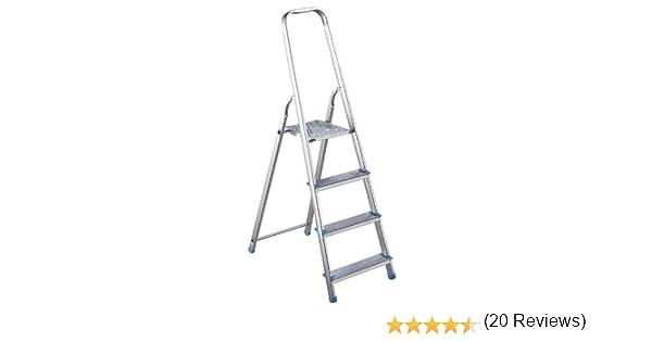 Altimat 01170204 - Escalera de mano (4 escalones): Amazon.es: Bricolaje y herramientas
