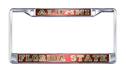 FSU Florida State ALUMNI Chrome License Plate Frame