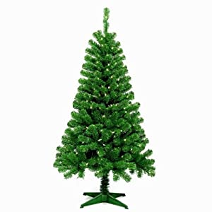 Jeco 5 Feet Wood Trail Pine Artificial Christmas Tree 10