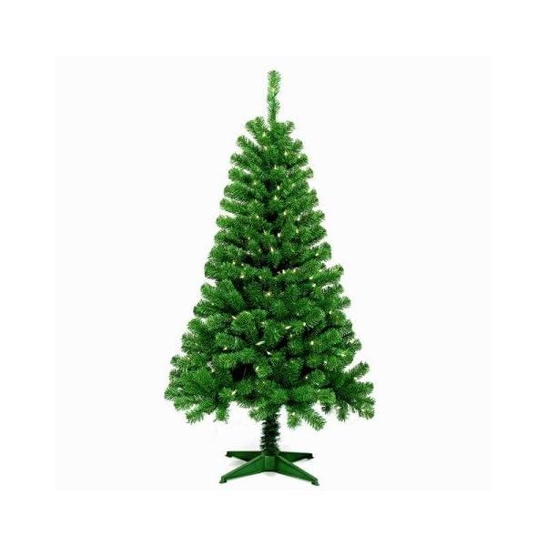 Jeco-Inc-5-Feet-Wood-Trail-Pine-Artificial-Christmas-Tree