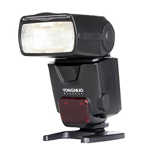 Tinksky YONGNUO YN510EX TTL Slave Flash Speedlite for Nikon Canon Cameras (Black)