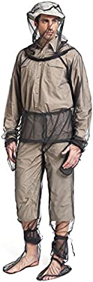 Traje de mosquito, chaqueta repelente de insectos, traje de malla ...