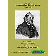 Le Système National d'Économie Politique (French Edition)