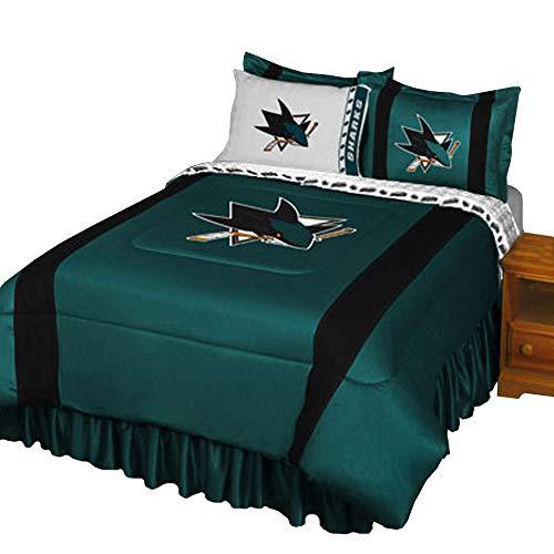 san jose sharks pillow case - 5