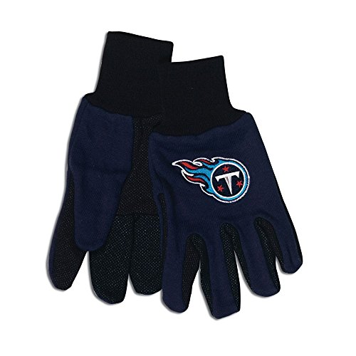 Wincraft NFL Tennessee Titans Two-Tone Gloves, Blue/Black ()
