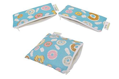 - Itzy Ritzy Snack & Mini Snack Happens Reusable Bag Bundle (Donut Shop)