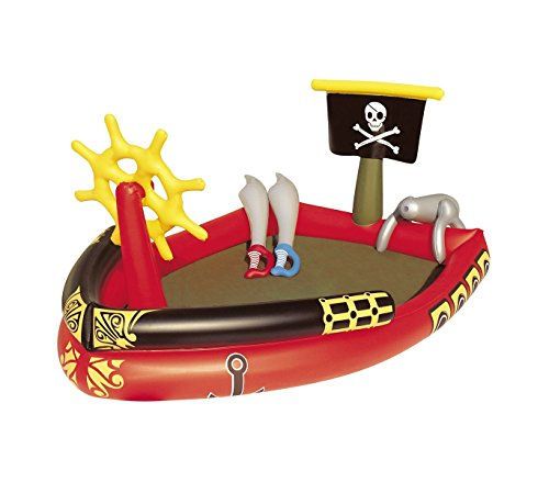 53041 Piscina Play Center Piratas con juegos y pistola de ...