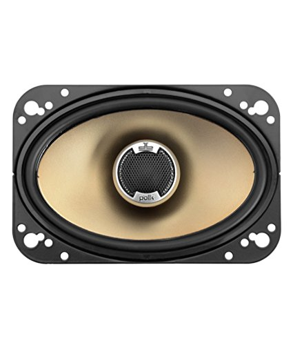 Polk Audio DB461 4-by-6-Inch Coaxial Speakers (Pair, Black) (Best Exhaust System For Chevy Silverado 1500)