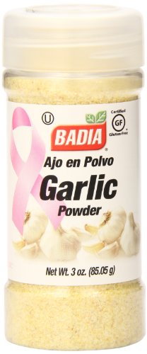 Badia Garlic Powder, 3 Ounce (Pack of 12) ()