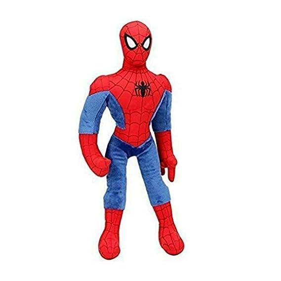 PLATONIC HUB Plush Spiderman, Soft Toy for Kids, Red Blue (Size- 60cm)