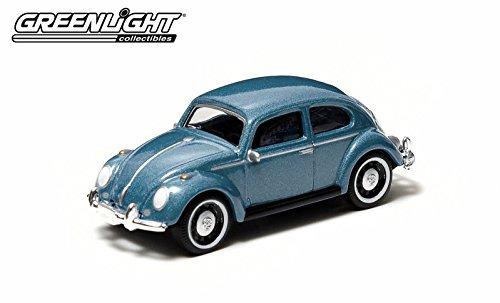 Beetle Classic (Volkswagen Classic Beetle (Blue) 2014 Motor World Series 12 German Edition 1:64 Scale Die-Cast Vehicle)