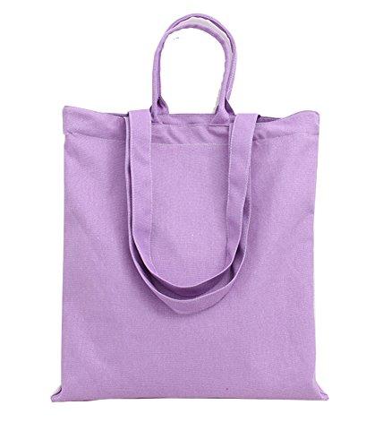 Avec Mode Violet Fermeture En Solide Toile À La Da Série Sacs Les Main wa Femme Package Glissière Sac TpT6v