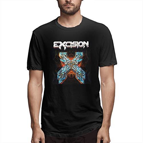 Fnh Excision Men's T Shirts 4XL Black]()