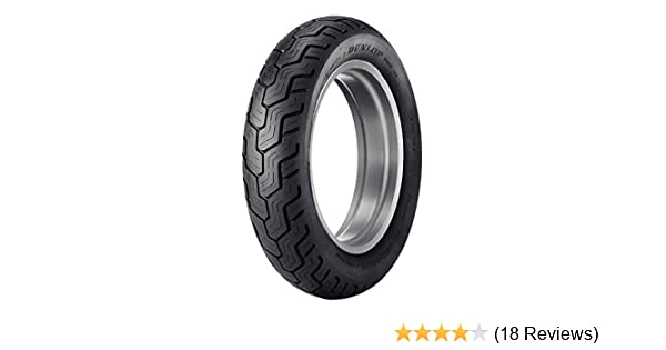 Dunlop D404 Rear Motorcycle Tire 150/90-15 (74H) Black Wall