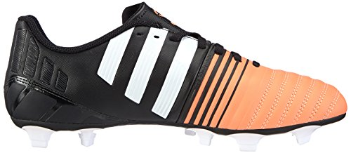 adidas Nitrocharge 4.0 TRX Firm Ground - Zapatillas de fútbol Hombre Schwarz (Core Black/FTWR White/Flash Orange S15)