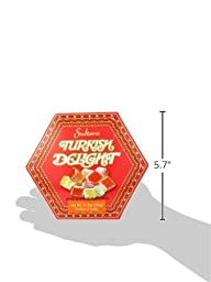 Sultan\'s Turkish Delight, Rose and Lemon Flavored, 11.5 Ounce Boxes