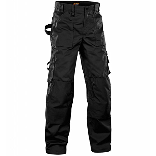 157018609900D84 Trousers Size 30//30 Metric Size D84 In Black Blaklader