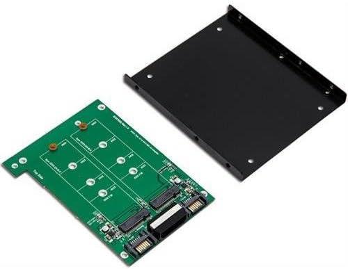 Syba SY-ADA40088 3.5 Dual SATA III to M.2 SSD Adapter