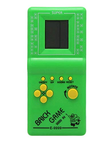 Hot Kids' Toys Educational Tetris Game Hand Held LCD Electronic Toys Brick Game