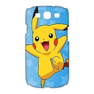 Mystic Zone Pikachu Samsung Galaxy S3 Case for Samsung Galaxy S3 Hard Cover Japanese Hot Cartoon Fits Case HH0842 Kimberly Kurzendoerfer