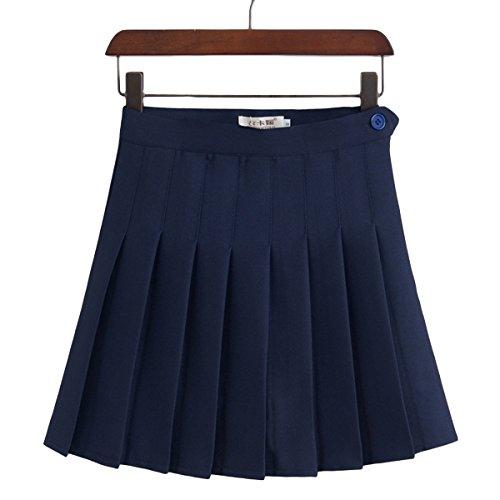 [WOLLO] レディース ガールズ ゴルフスカート GOLFウェア インナーパンツ付き  伸縮性 軽量 通気性