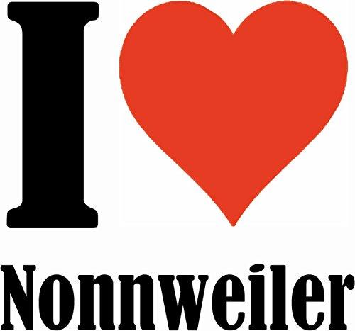 """Handyhülle iPhone 4 / 4S """"I Love Nonnweiler"""" Hardcase Schutzhülle Handycover Smart Cover für Apple iPhone … in Weiß … Schlank und schön, das ist unser HardCase. Das Case wird mit einem Klick auf deine"""