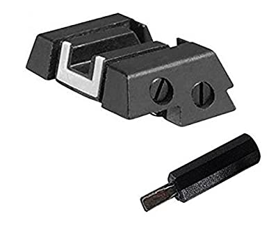 Glock Perfection OEM Adjustable Rear Sight Fits All Models by Glock