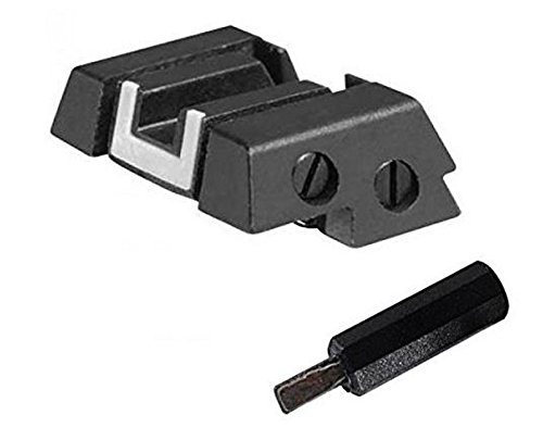 Glock Perfection OEM Adjustable Rear Sight Fits All Models