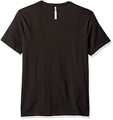 Calvin Klein Jeans Men's Short Sleeve Military Ck Logo Crew Neck T-Shirt