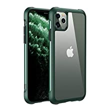 Joyroom Protective iPhone 11 Pro Max Clear Case, Slim Hard PC Case for iPhone 11 Pro Max, Anti-Drop and Anti-Yellowing Hybrid Design