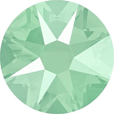 2000, 2058 & 2088 Swarovski Flatback Crystals Non Hotfix Crystal Mint Green