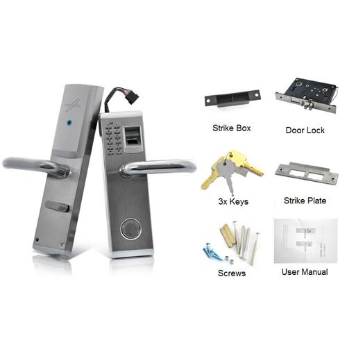Lightinthebox 3-in-1 Biometric Fingerprint and Password Door Lock with Deadbolt (Right Handed) for Business and Home Security by LightInTheBox (Image #6)