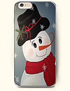 Case Cover For SamSung Galaxy S4 Mini Cute SnoWith Red Scarf And Black Hat