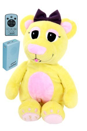 LullaPets Plush Companion - Ballad the Bear - Huggable Pet featuring a Removable MP3 Player by Lullapets - The Musical Companions (Image #4)