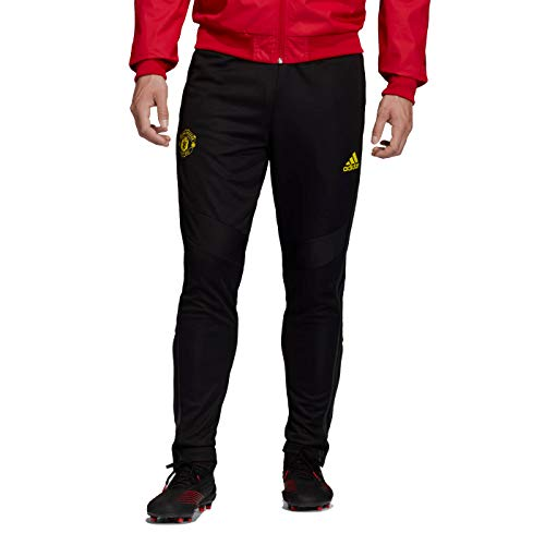 adidas Men's Manchester United Training Pant 2019-20 (Medium) Black (Manchester United Best Goals)
