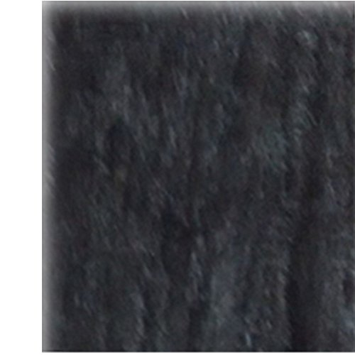 GEGEFUR Women Winter Genuine Knitted Mink Fur Shawl Mink Fur Scarf (BLACK)