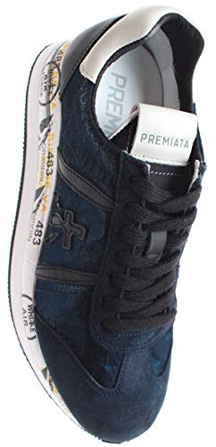 Blu 1491 Scuro Premiata Blue Conny Sneaker wBWv1nqIq
