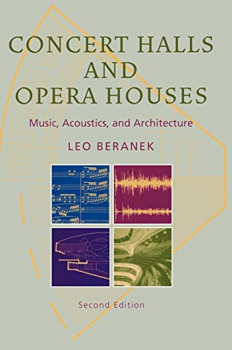 Concert Halls and Opera Houses: Music, Acoustics, and Architecture (Best Concert Hall Acoustics)