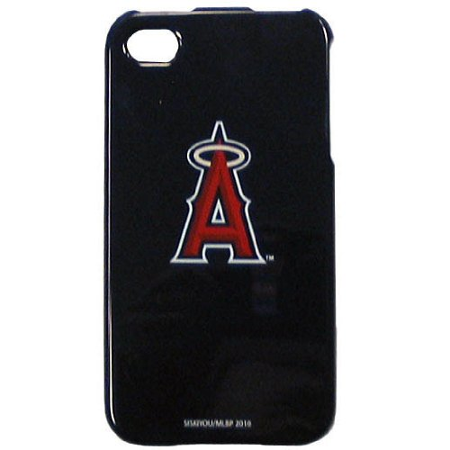 Los Angeles Angels of Anaheim MLB for Apple iPhone 4 4S Faceplate Hard Protector Snap On Case Cover fits Sprint, Verizon, AT&T Wireless