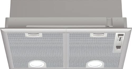 Bosch DHL555B - Campana (Recirculación, 650 m³/h, 36 Db, Incorporado, Plata, 50 cm): 164.97: Amazon.es: Grandes electrodomésticos