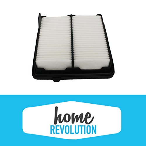 Cabin Air Panel Filter Compare to A26052 & CA10650; Home Revolution Brand Replacement Made to Fit Honda Fit