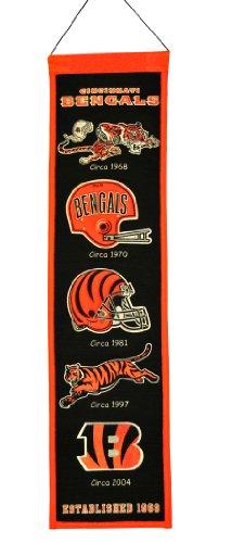 [NFL Cincinnati Bengals Heritage Banner] (Logo Heritage Banner)