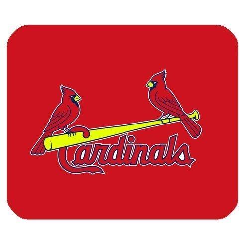 Custom Standard Rectangle Gaming Mousepad - St Louis Cardinals Mouse Pad - Mouse Cardinals Wireless