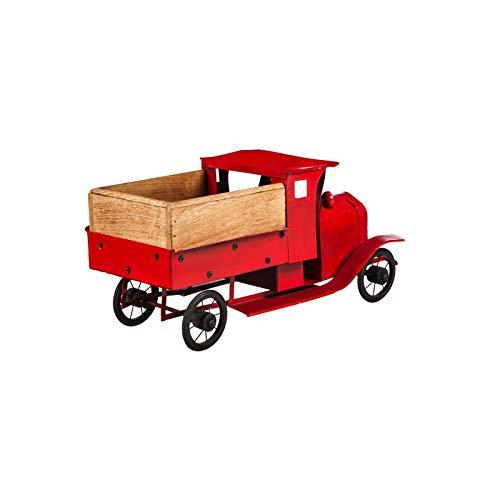 Amazon.com: Cape Craftsmen - Macetero pequeño de metal rojo ...