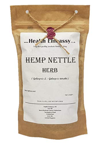 Hemp Nettle Herb (Galeopsis L. - Galeopsis Tetrahit) Health Embassy - 100% Natural (100g)