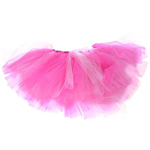 Handcrafted Hot Pink/Light Pink Mesh Tutu for Dogs