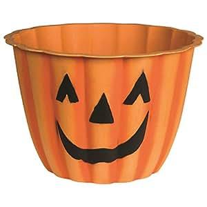 """Austram Pumpkin Face Planter - Diameter : 12"""" - Qty. : 6 PCs."""