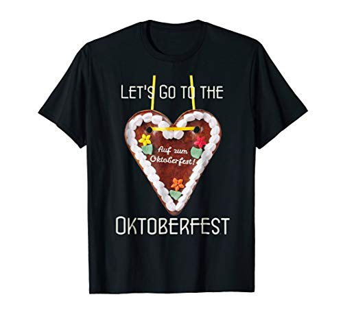 Oktoberfest - gingerbread heart - Tees