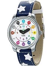 Twistiti - Horloge voor kinderen, vanaf 3 jaar, wijzerplaat met educatieve cijfers - waterdicht 50M - verwisselbare bandje (verschillende kleuren beschikbaar)