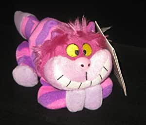 Amazon Com Disney Cheshire Cat Bean Bag Plush Toy Alice